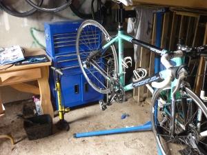 My lovely bike, needing repair