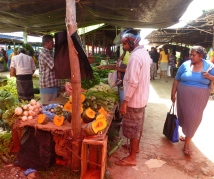 Market in Athugama