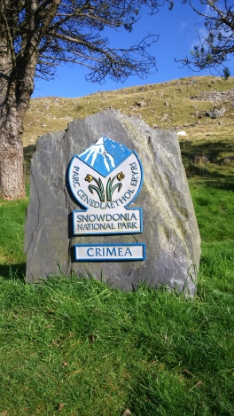 The top of the Crimea pass
